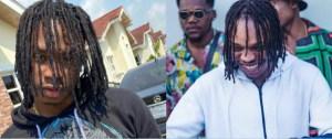 Lil Kesh flaunts similar hairstyle with soapy hitmaker, Naira Marley (Photos)
